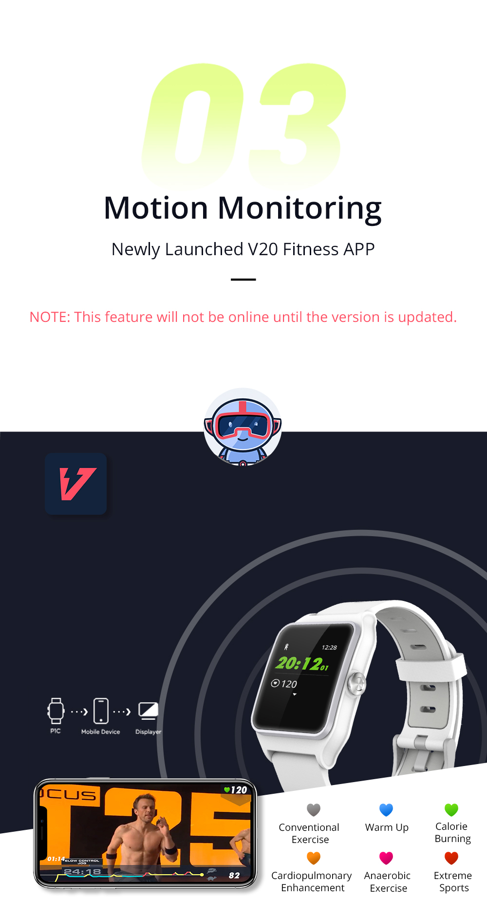 Dropshipping Makibes BR3 Strava Smartwatch Men Built-in GPS Smart Watch IP68 Waterproof Fitness Tracker Heart Rate Monitor Watch (11)
