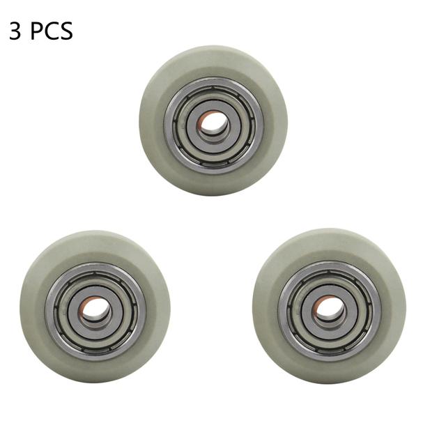 3 sztuk V koła 625ZZ łożyska wysokiej jakości materiał IGUS produkcji v-slot typu V dla Ender 3 Cr-10 drukarki 3D tanie i dobre opinie FARAJIAJ CN (pochodzenie) Zestaw kół Koła