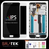 SRJTEK Für Meizu M5S LCD Display Für MEIZU M5S Touchscreen Matrix Digitizer Sensor Glas Mit Rahmen Für meilan 5S M612H M612M-in Handy-LCDs aus Handys & Telekommunikation bei