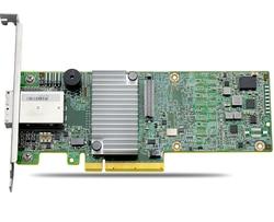 9380 8E LSI00438/05 25528 04 SFF8644 * 2 PCIe3.0 X8 12 Gb/s MegaRaid SAS; RAID0; 1; 5; 6; 10; 50 1G pamięci podręcznej w Piloty zdalnego sterowania od Elektronika użytkowa na