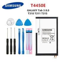 цена на SAMSUNG Orginal Tablet T4450E battery 4450mAh For Samsung Galaxy Tab 3 8.0 T310 T311 T315 SM-T310 T3110 E0288 E0396 +Tools