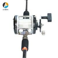 AI-SHOUYU Sea Boat Jigging Fishing Rod 1.68m 2.1m FUJI Reel Seat 100-300g Carbon Fiber Saltwater Spinning Fishing Rod 15-20kg