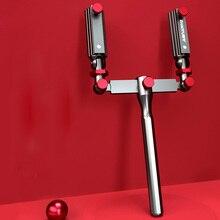 Universal Angeln Zubehör Regenschirm Halter Halterung Einstellbare Stuhl Halterung Drehender Angelrute Stehen Rack Angeln Feste Werkzeug