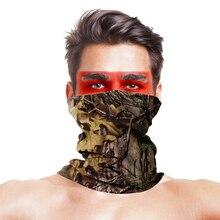 Походные шарфы с высокими прыжками головные уборы для мужчин и женщин маска для шеи армейская тактическая уличная Волшебная головная повязка для кемпинга походный шарф для шеи