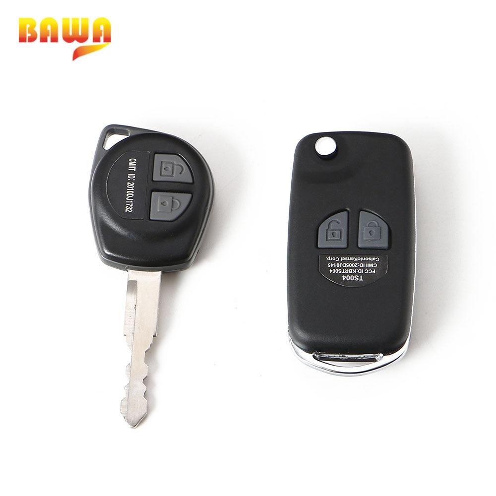 BAWA Key Case para Suzuki Jimny 2019 + modificado plegable llave de coche remoto funda protectora accesorios para Suzuki Jimny