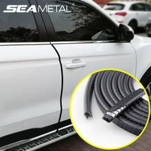 5M/10M paski drzwi samochodu gumowa krawędź listwy ochronne listwy drzwi bocznych klej zabezpieczenie przed zarysowaniem pojazd Universal Car Styling