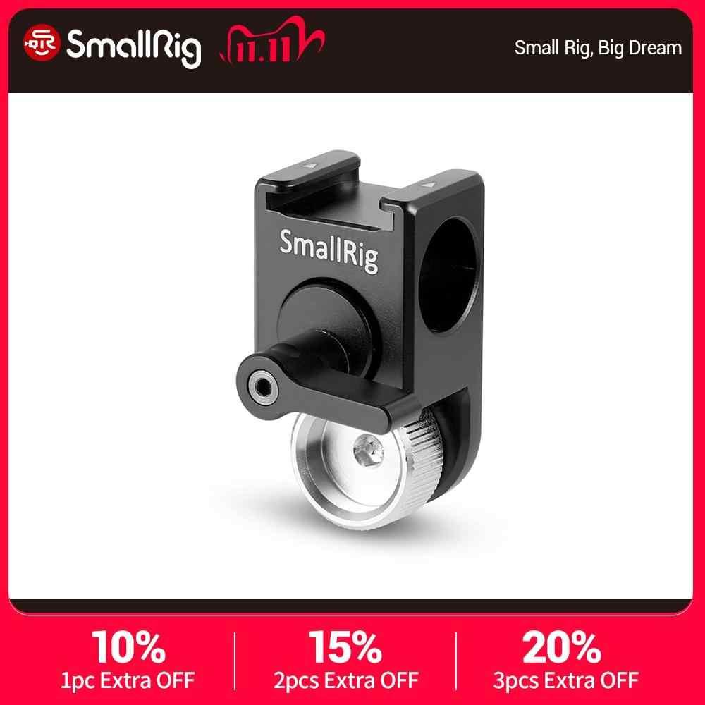 Cámara SLR SmallRig Trípode Placa de montaje con abrazadera de barra 15mm D Videocámara Rig