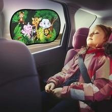 Visor 2pcs-Set Shade Windscreen Car-Shield Sunlight-Protective Pet Roof-Window Baby Kids