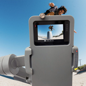 Image 2 - כף יד Gimbal מתאם מתג הר לdji אוסמו נייד 3/4 כדי GoPro גיבור 7 6 5 שחור פעולה מצלמה מתג צלחת מתאם Vlog