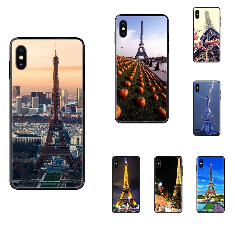 For Huawei Honor Mate Play V10 View 10 20 20X 30 Lite Pro Y3 Y5 Y9 Nova 3 3i Pro Soft Cellphone Black Travel In Eiffel Tower