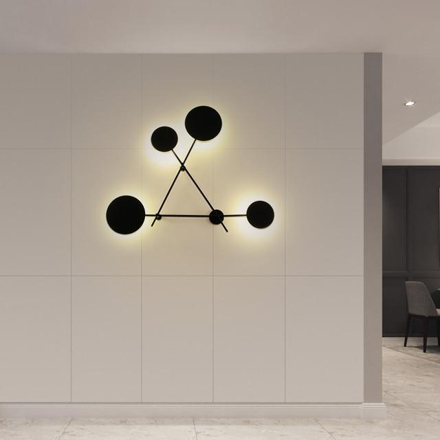 настенные светодиодсветодиодный лампы в скандинавском стиле фотография