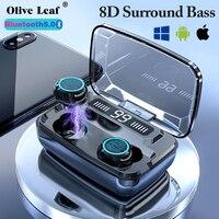 M11 TWS Bluetooth 5.0 auricolare sport cuffie impermeabili auricolari musicali Stereo Wireless per IOS Android Huawei e Xiaomi