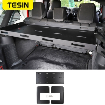Rear Racks for Jeep Wrangler JK 2007+ Car Tailgate Trunk Storage Rack Luggage Shelf for Jeep Wrangler JL 2018+ Car Accessories car air filter for 2014 jeep wrangler 2 8td diesel wrangler 2 8 diesel wrangler iii jk 53034019ad