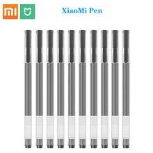 Perakende Xiaomi Mijia kalem nötr kalem imza kalem 0.5 mürekkep pürüzsüz kırmızı veya siyah dolum MiKuni japonya mürekkep ofis için öğrenme hiçbir kutu