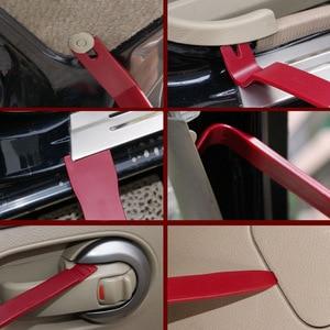 Image 2 - רכב קליפים ריפוד הסרת ערכת חזק ניילון Trim כלי רכב דלת דפוס דאש פנל מסמרת אבזם פלייר אטב מסיר