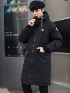 Winter Jacket Padded Outerwear Parkas Cotton-Coat Warm Long High-Quality Big-Pockets