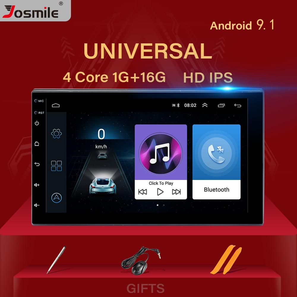 2 din Android 9,0 Auto Radio Head Unit Für Nissan Xtrail Hinweis Qashqai Almera Universal Multimedia Audio GPS Navigation Stereo 2GB