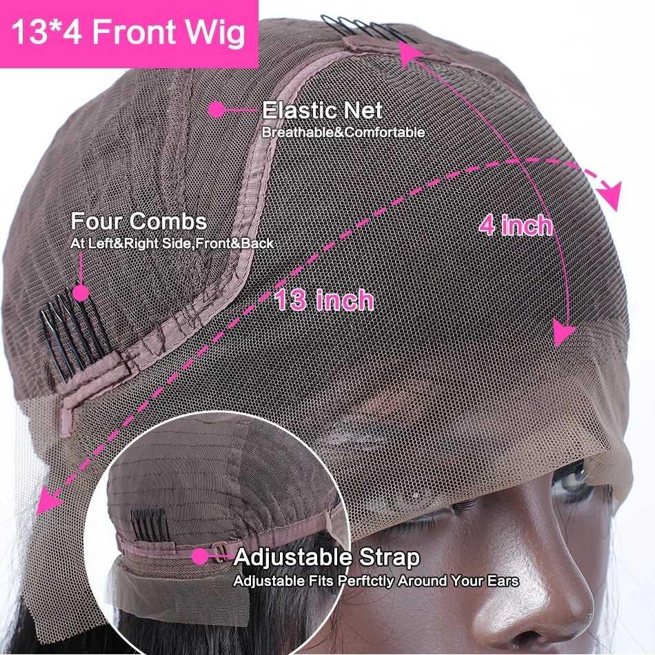 NAFUN brazylijski ciało koronkowa fala Frontal zamknięcie uzupełnienie splotu ludzkich włosów Remy obramówka peruki 22 Cal górne zamknięcie wstępnie oskubane sprzedawcy włosów