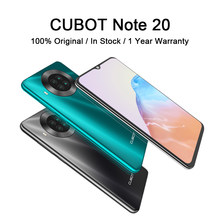 Cubot Note 20 Nfc Smartphone 6.5 ''Rear Quad Camera 12MP + 20MP 4200Mah Mobiele Telefoon Android 10 Dual sim 3Gb + 64Gb 4G Lte