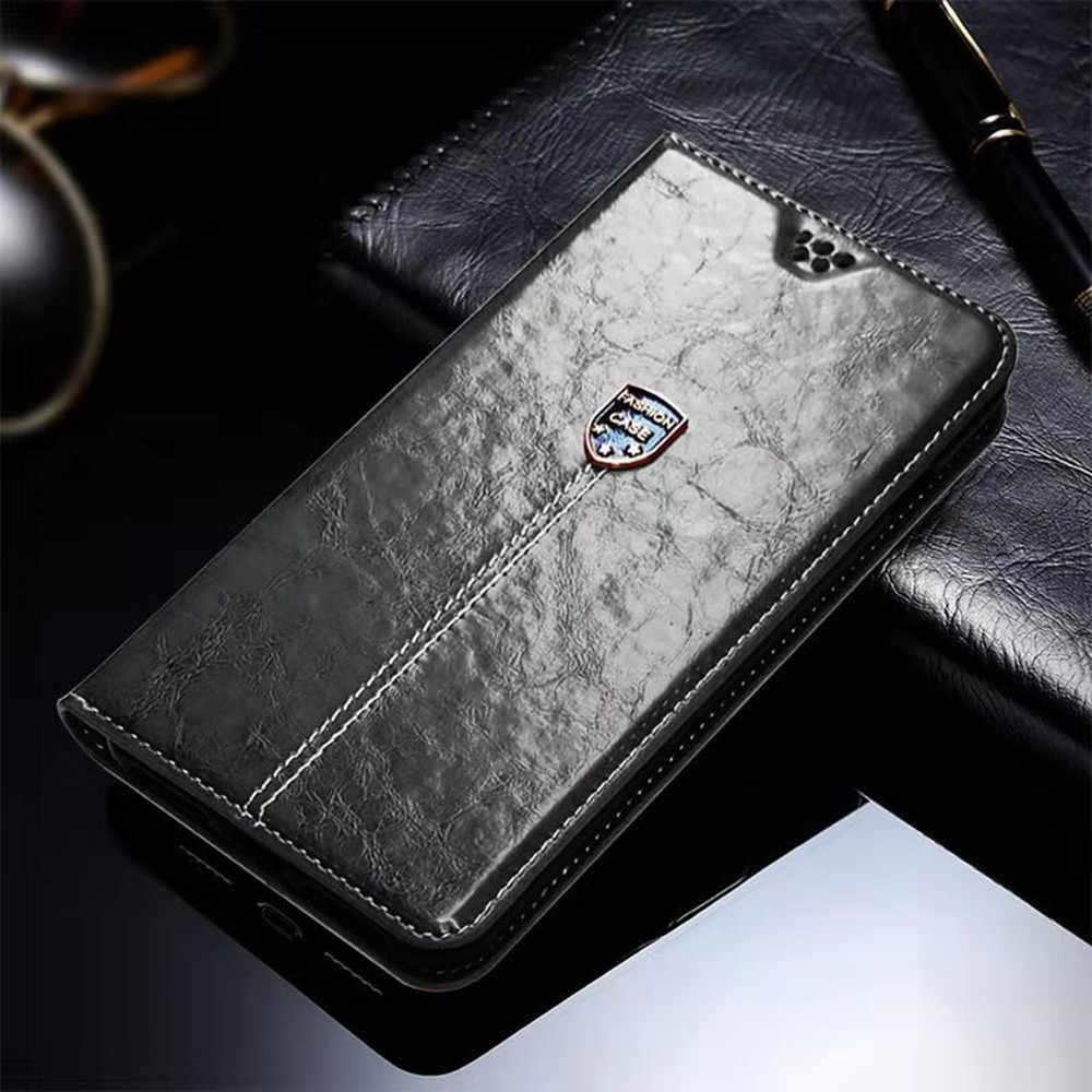 Ulefone Power 5 5S 2 3 3S 6 Cover Flip Dompet Leather Case untuk Ulefone Note 7 7P S10 S1 Pro Baju Besi 6 6E 6S Coque dengan Pemegang Kartu