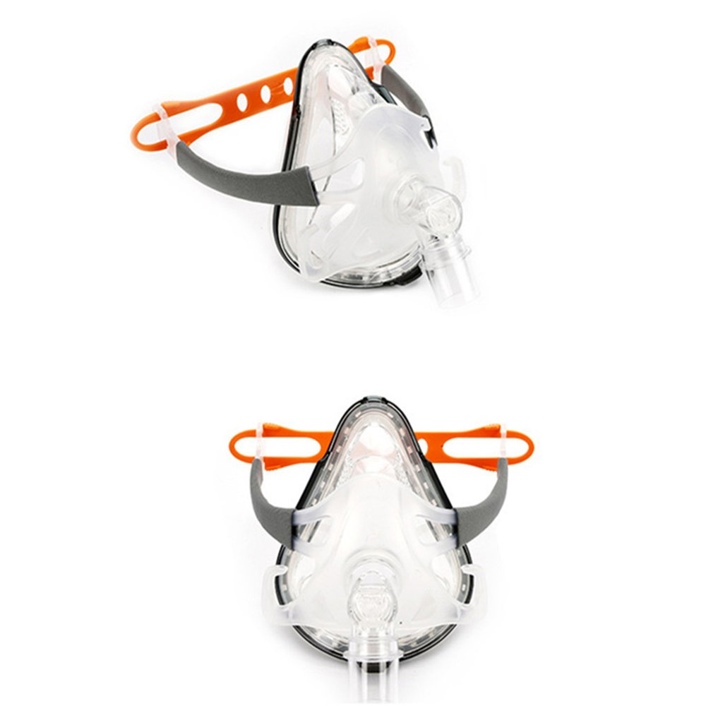 CPAP Mask FM1A Full Face Mask For CPAP Bipap Machine COPD Snoring Size SML Connect Face And Hose With Headgear