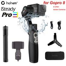 Hohem iSteady Pro 3 3 осевой водонепроницаемый ручной Gimble для DJI Osmo Action Gopro Hero 8/7/6/5/4 SJCAM YI Cam RX0 Экшн камера