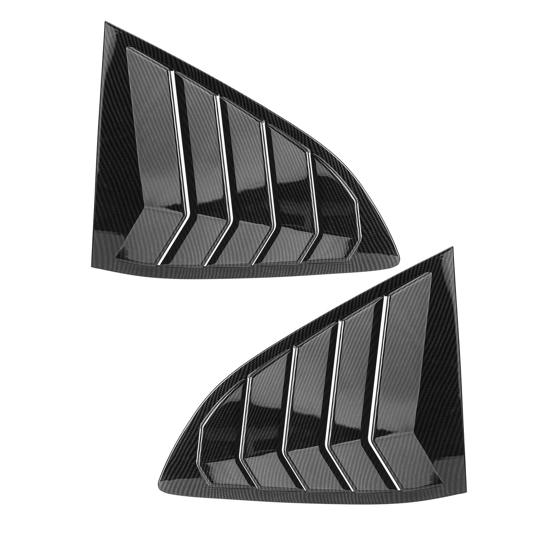 2X con apariencia de fibra de carbono, rejilla de ventilación lateral para coche, persianas, cubiertas de molduras para Honda, para CR-V, CRV 2017-2020, persianas para ventana, Scoop Cover ELEPHONE E10 Octa Core Smartphone 4GB 64GB 6.5