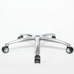 Aleación de aluminio cinco estrellas Silla de pie Oficina Ejecutiva silla giratoria Base Oficina Metal pies con barra de Gas accesorios de muebles