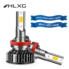 10000K 4300K 6000K 5000K 8000K H7 LED Bulb H11 9006 Headlight Deep Blue Car light h 11 led H4 9005 HB4 HB3 Driving Lamp 12V 24V