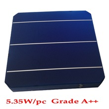 50pcs/lot 4.6W 156mm mono solar cells 6x6+150feet Tabbing Wire+15feet Busbar Wire+1pc flux pen for DIY making 230w panel