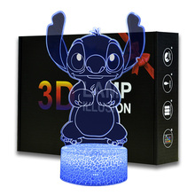 Magiclux Stitch Model Night Light Colors Changeable Kids Bedroom Decoration Cartoon lamp Perfect Birthday Christmas Gifts