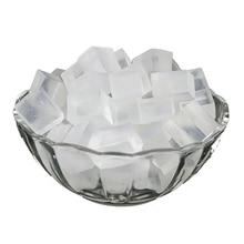 Органическая белая и прозрачная глицериновая мыльная основа расплавить и залить весь натуральный брусок для мыла ручной работы-500 г