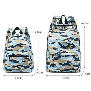 Image 4 - Sacs à dos décole de Camouflage pour enfants, sacoche allégée à lépaule, pour enfants, cartable pour la maternelle, 2 tailles, nouvelle collection