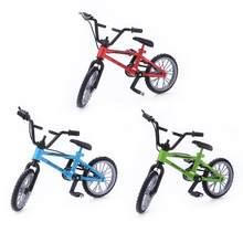 Mini doigt vtt moulé sous pression en alliage de Nickel Stents doigt vélo enfants nouveauté Gag jouets modèle Mini vélo Portable pour enfant