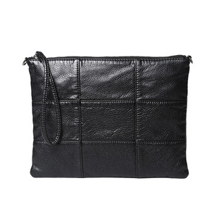 Image 2 - Super soft leather hand bag simple lady bag washed leather cross body bag