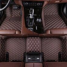 Car Floor Mats Front Rear Floor Liner Styling Auto Carpet Mat Waterproof Custom Leather for Mazda 3 Axela 2019 2020 цена 2017