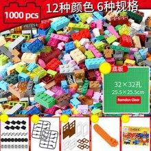Piezas clásicas compatibles con MOC, 1000 Uds., kits creativos, diseñador, bricolaje, bloques de construcción, ideas de bloques, juego educativo