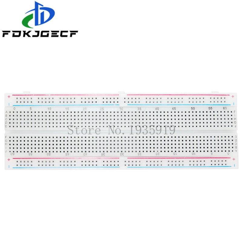 Макетная плата 830 точечная паяльная печатная плата для хлеба Φ MB102 MB-102 DIY для arduino