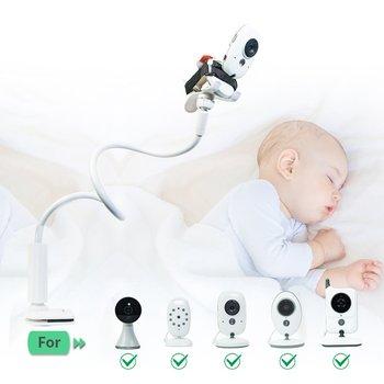 Wielofunkcyjny uniwersalny statyw stojak na niania elektroniczna Baby Monitor do montażu na łóżko Cradle regulowany długi wspornik ramienia tanie i dobre opinie LESHP CN (pochodzenie) Multifunction Universal Camera Holder Stand mobile phone holder stand