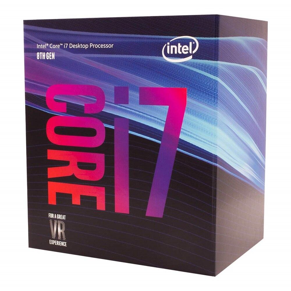 Процессор Intel Core I7-9700K для настольных ПК 8 ядер до 3,6 ГГц Turbo разблокированный LGA1151 300 серия 95 Вт 100% Оригинальный настольный процессор