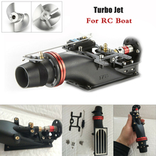купить 24mm Hole Turbo Jet Thruster for for 36/40 Series Brushless Motor RC Boat  2-blade 4-blade propeller дешево