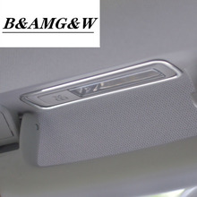 Car Roof Reading Lamp Frame Decoration Sticker Trim For Mercedes Benz ML GL X166 320 350 400 500 Dome Light Modified Decals