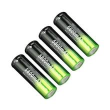 SKYWOLFEYE 18650 литиевая батарея 5800 MAh 3,7-4,2 V литиевая батарея заряжаемый мощный светильник-вспышка