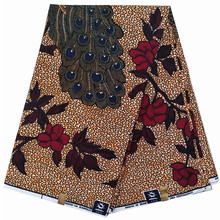 2019 Fashion Dutch African Wax Prints Fabric Ankara wax fabrics pure cotton