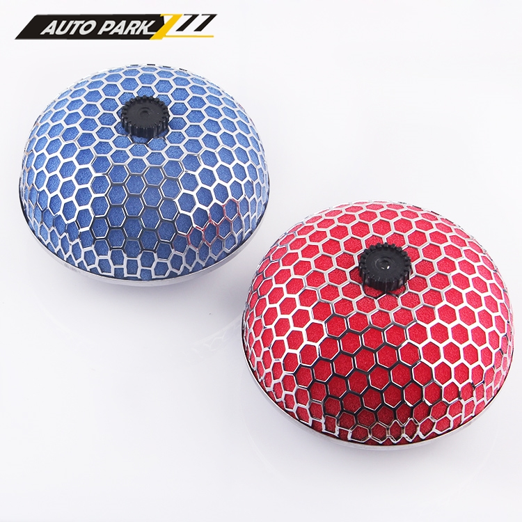Auto Car universal Super Power Round flow cleaner high flow air Filter honeycomb type air intake system Air filter Mushroom head