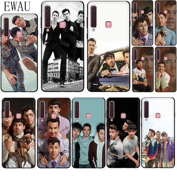 EWAU Jonas Brothers Silicone phone case for Samsung A2 Core A5 A6 plus A7 A8 A9 A10s 20s 20E 30s 40s 50s 60 70S image