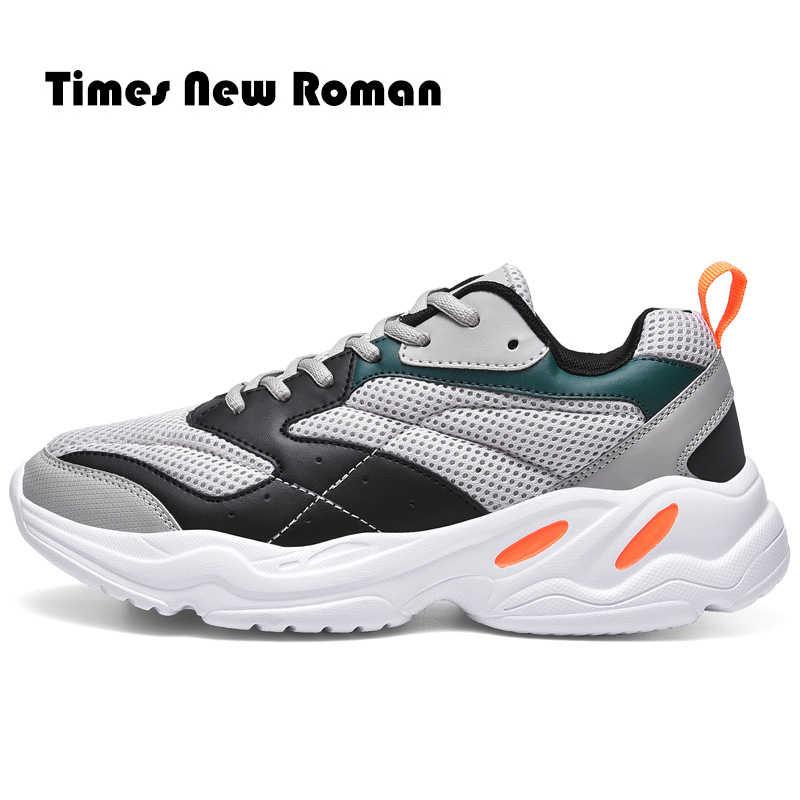 Kez yeni roma erkekler rahat ayakkabılar marka kış moda ayakkabı Trend erkek ayakkabısı açık Zapatillas Hombre erkek düz artı boyutu