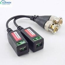 10 paires UTP vidéo Balun torsadé CCTV Balun émetteurs-récepteurs passifs BNC câble Cat5 CCTV caméra accessoires