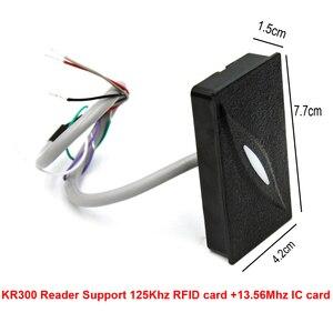 Image 2 - IP basierend Tür Access Control Panel mit 4 stücke KR300 Reader TCP/IP RS485 Kommunikation Erweiterte Access Control Wiegand 26