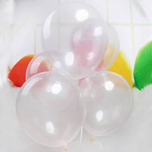 Image 3 - 5/10/12/18/24/36 inch Thick Clear Latex Balloons Transparent Balloons Wedding Party Birthday Decoration Inflatable Air Balls